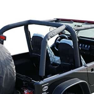 Rampage Products 768915 Roll Bar Pad And Cover Kit For 1992 1995 Jeep Wrangler Yj Black Denim Jeep Jeep Yj Jeep Wrangler