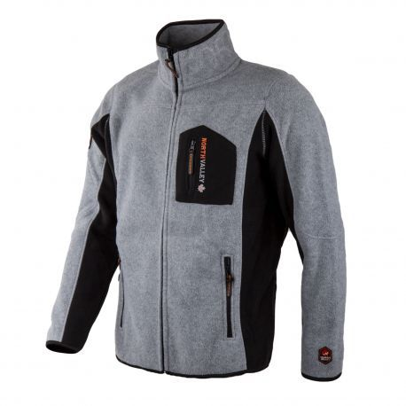 Activewear Blouson en Polaire avec Zip Homme