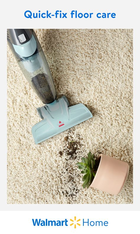 Looking for ways to tidy up and keep your space clean this semester? Walmart has everything you need to maintain all the mess, clutter, dirt, and dust in between study breaks. Get spotless with vacuums, steam mops, and so much more to keep spaces squeaky clean for college. #WalmartHome