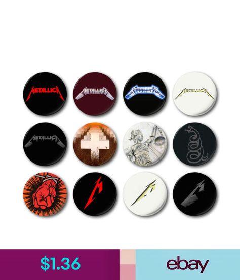 "Hetfield St Anger Puppets 1/"" // 25mm Button Badge Various Designs Metallica"