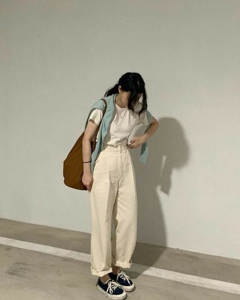 Girl trendy clothes ideas stylish summer 2021 sweet korean fashion tiktok college