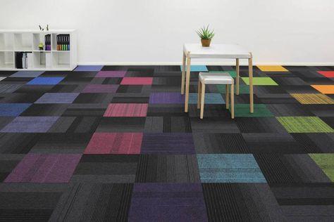 Carpet Tiles Really Know How To Make A Floor Pop Carpet Tiles