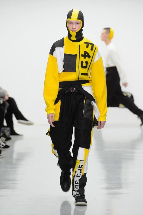 Liam Hodges Fall/Winter 2016/17 - London Collections: MEN - Male Fashion Trends