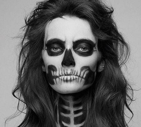 skeleton halloween makeup halloweenthanksgiving pinterest halloween makeup skeletons and makeup - Halloween Skeleton Makeup Ideas