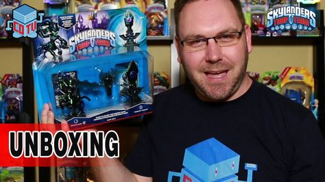 Skylanders Trap Team DARK Element Expansion Pack Unboxing #skylanders #unboxing #videogame #toys #collecting