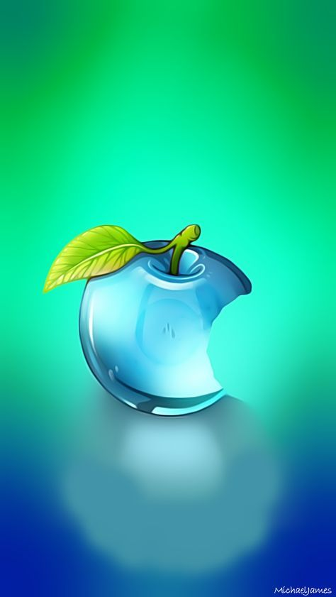Blue Glass Apple Apple Iphone 5s Hd Wallpapers Available For Free