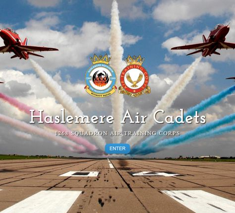 The Haslemere Air Cadets required a website to show everyone what they do. Visit their website at www.haslemereaircadets.co.uk