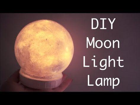 Diy Moon Light Lamp Youtube In 2020 Moon Light Lamp Diy Pendant Light Diy Crafts For Home Decor