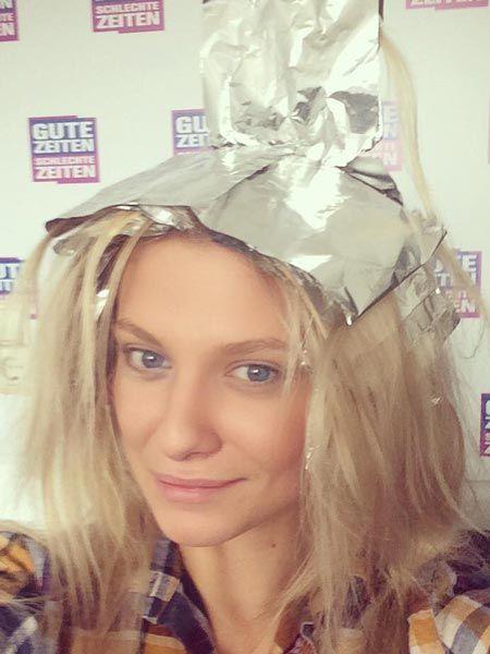 Gzsz Sunny Neue Haarfarbe Fur Valentina Pahde Alle Intouch