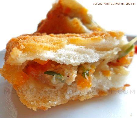 Roti Goreng Isi Ragout Ayam Roti Food Ragout