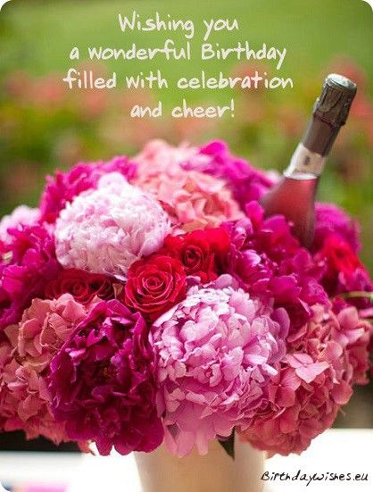 Pin By Rosie Huss On Cards Happy Birthday Flower Birthday