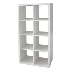 Clever Cube 2 X 4 White Cube Storage Cube Storage Shelves