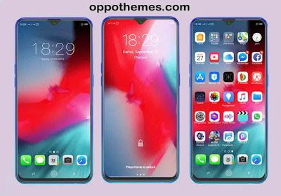 Ios 12 Theme For Oppo Realme Android Themes For Mobile Phone Themes Android Theme