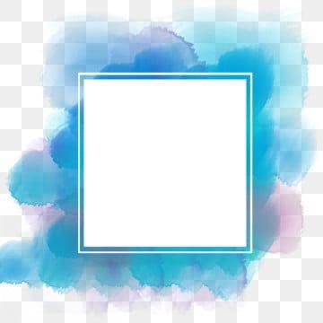 Watercolor Frame Border Watercolor Frame Border Png Transparent Clipart Image And Psd File For Free Download Frame Border Design Frame Background Banner