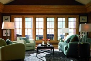 New Construction Double Hung Architectural Windows Simonton Profinish Brickmould Living Room Windows Windows And Doors Double Hung