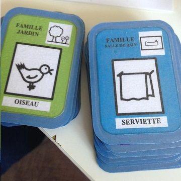 Differents Jeux De Cartes Avec Makaton A Fabriquer Jeu De Cartes Cartes Jeux