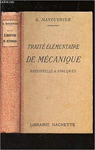 Telecharger Traite Elementaire De Mecanique Rationnelle Et Appliquee Gratuit Passport Holder