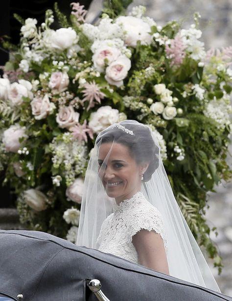 pippa middleton, así ha sido su espectacular boda   bodas, ropa