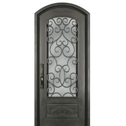 Ss518shx 34 Entry Doors Iron Entry Doors Bronze