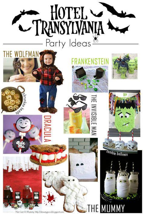 Fiesta Friday - Hotel Transylvania Party Ideas