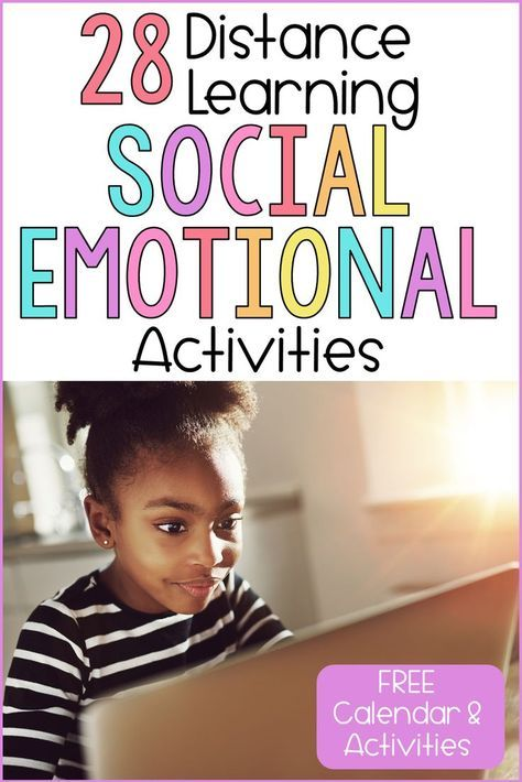 Social-emotional activities will support distance learning at home. Use these ideas to support your SEL lessons online, at home, and in the classroom. Social Emotional Activities, Social Emotional Development, Counseling Activities, Classroom Activities, Learning Activities, School Counseling, Preschool Learning, Family Activities, Preschool Activities