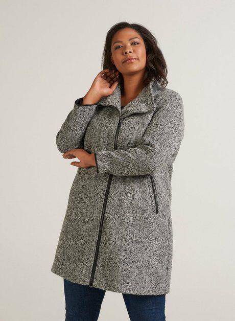 Damen Jacke mit schicken Knöpfen, große Größen