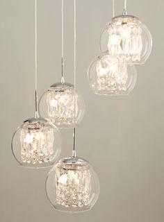 Gl Crystal Spiral Pendant Chandelier Ceiling Lights