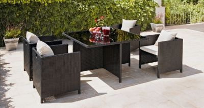 Garden Furniture Homebase rattan garden furniture - homebase | garden ideas | pinterest