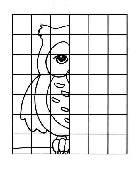 Simetri Ornekleri Resmi Tamamla Drawing Lessons Boyama