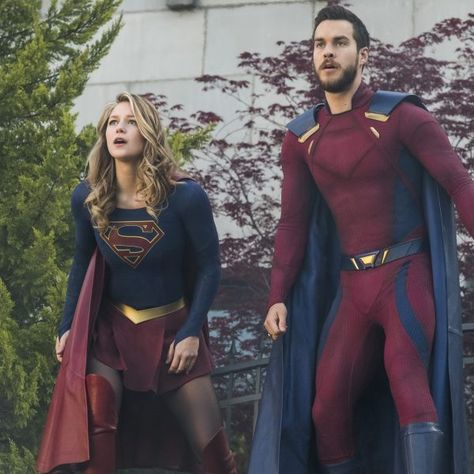 SUPERGIRL Season #3 Finale Photos Hit!