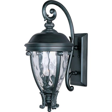 Maxim Lighting Camden Vivex 3 Light Black Outdoor Wall Mount