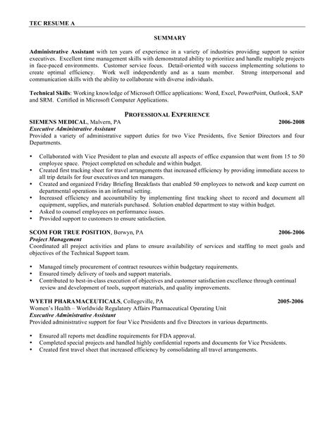 It Project Administrator Resume - How to draft an iT Project ...