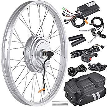 Aw 20 5 Electric Bicycle Front Wheel Frame Kit For 24 36v 750w 1 95 2 5 Tire E Bike Electric Bicycle Conversion Kit Electric Bike Conversion Bike Motor Kit