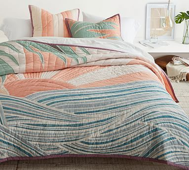 Roxy Vintage Sun Patchwork Quilt Amp Shams In 2020 Quilted