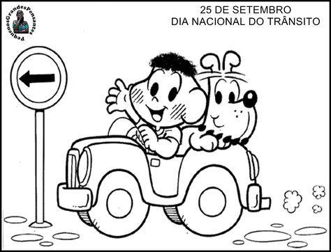 Semana Nacional Do Transito Educacao Infantil Dia Nacional Do