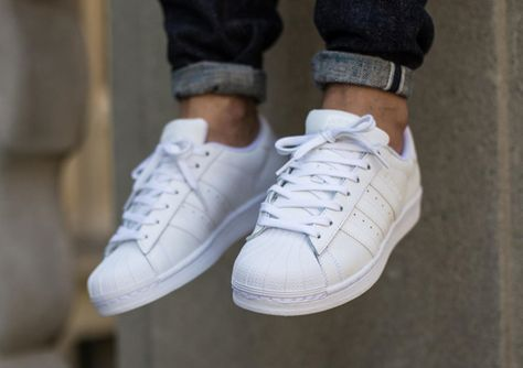 newest db7fe 97ea5 Adidas Superstar Foundation Blanche (2) | F00t Wear in 2019 ...