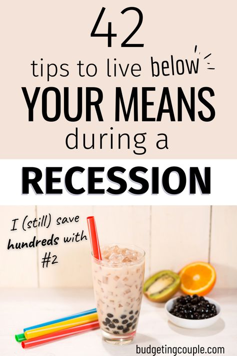 42 Tips to Live Below Your Means and Never Be Poor