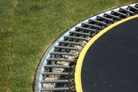 The nitty gritty about building your own sunken trampoline.