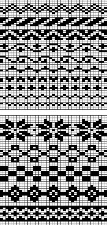 fair isle free pattern | örgü desenleri | Pinterest | Fair isles ...
