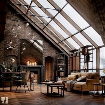Making Your Home Look Nice With Great Interior Decorating Tips Urban Industrial Decor Apartment Inspiration Loft Design