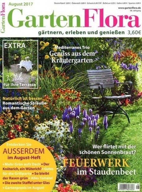 Das Gartenmagazin Mein schöner Garten ist ein Ratgebermagazin, in - mein schoner garten zeitschrift