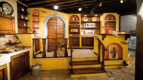 Cucina del Fienile: cucina rustica Il Borgo Antico   Cucina ...