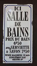 Best Plaques Panneau Images On Pinterest Sign Vintage - Enseigne salle de bain
