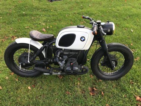 1971 bmw r60/5 custom bobber vintage cafe racer ahrma   Custom Cafe Racer Motorcycles For Sale