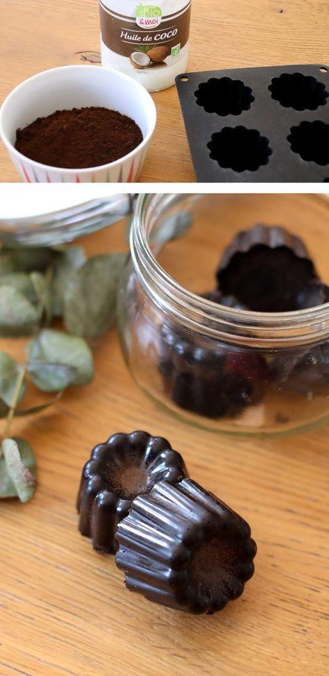DIY - les pains de gommage coco/café