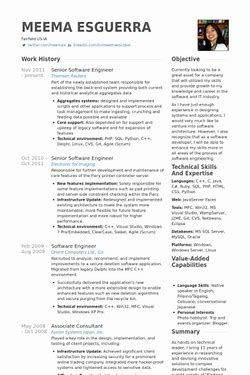 Senior Software Engineer Resume Image Result For Senior Software Engineer Resume  Resumes  Pinterest