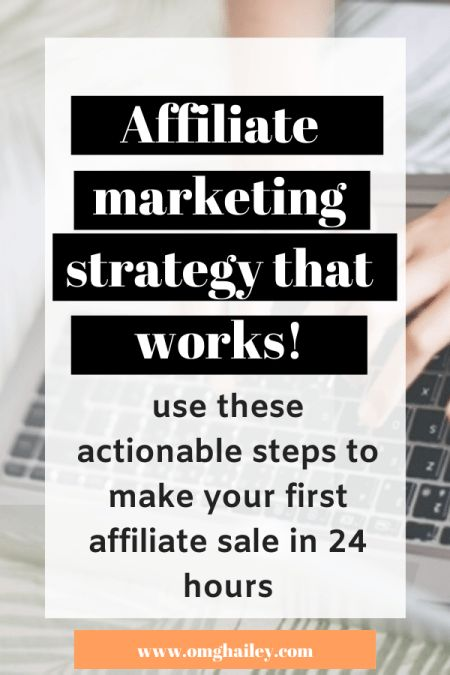 Learn Affiliate Marketing how to make your first affiliate sale