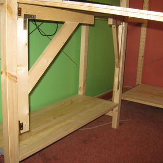 How to make a swing-out Ivar shelf