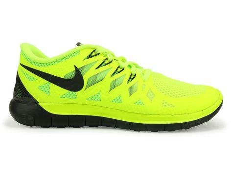 new style 82bb5 e68b8 Nike Men s Free 5.0 Running Shoes Volt Electric Green Photo Blue Black -  Azteca Soccer