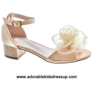 6b31752d1d2 Girls High Heel Shoes - gold-gz in 2019 | girls high heel shoes ...